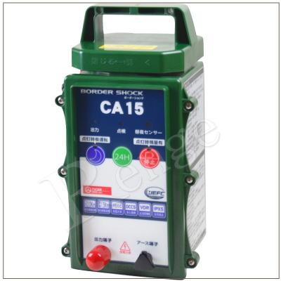 タイガー 電気さく用電源装置 CA15DC TBS-CA15DC