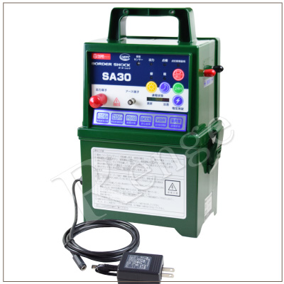 タイガー 電気さく用電源装置 SA30AD TBS-SA30AD