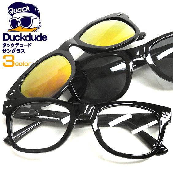 DUCK DUDE サングラス ダックデュード カラーレンズ メガネ メンズ レディース ファッション小物 ACCE-027