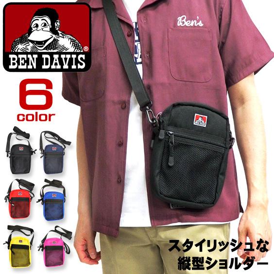 BEN DAVIS バッグ 縦型 ショルダーバッグ ベンデイビス BENDAVIS ショルダーポーチ BEN-1168
