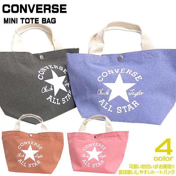 CONVERSE バッグ コンバース トートバッグ キャンバス カバン メンズ ミニトートバッグ CONVERSE-025