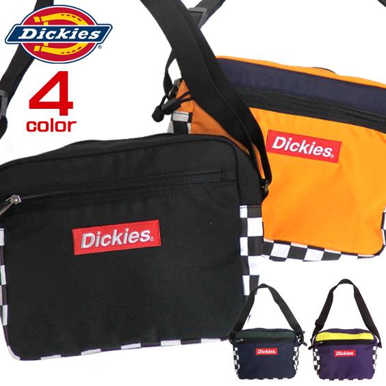DICKIES ショルダーバッグ ボックスロゴ刺繍 バッグ ディッキーズ ミニショルダー メンズ カバン DICKIES-602