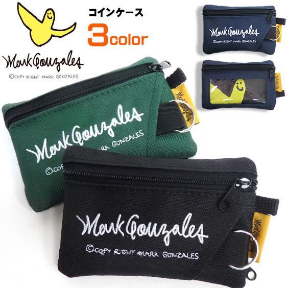 Mark Gonzales コインケース キーリング付き 小銭入れ メンズ レディース マークゴンザレス MARK-MGR113