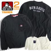 BEN DAVIS フリース 胸ポケット付き ベンデイビス メンズフリース ベンデイヴィス ロゴ刺繍 トップス BEN-1259