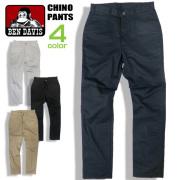 BEN DAVIS パンツ ツイル地 チノパン メンズ ベンデイビス ロングパンツ 5ポケット付き ボトムス BEN-1322