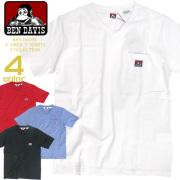 BENDAVIS VネックTシャツ ベンデイビス 半袖Tシャツ 胸ポケット付き メンズ Tシャツ ベンデービス BEN-1326