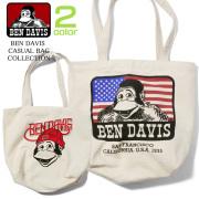 BEN DAVIS トートバッグ ベンデイビス バッグ メンズ カジュアルバッグ レディース エコバッグ BEN-717