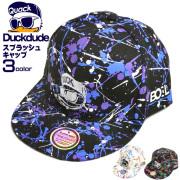 DUCK DUDE キャップ スプラッシュ ベースボールキャップ メンズ ダックデュード アヒル 帽子 CAP-046