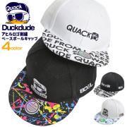 DUCK DUDE キャップ 総柄 ベースボールキャップ メンズ レディース ダックデュード アヒル刺繍 帽子 CAP-054