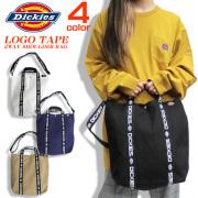 Dickies ショルダーバッグ 2way トートバッグ ディッキーズ バッグ リフレクター付き DICKIES-591