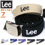 Lee ベルト リー ガチャベルト ロゴプリント メンズ GIベルト レディース ファッション小物 カジュアル LEE-028