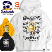 DUCK DUDE パーカー アヒルプリント スウェットパーカー ダックデュード スウェット ビーワンソウル PKL-322