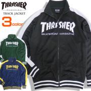 THRASHER ジャケット ロゴプリント トラックジャケット スラッシャー マグロゴ アウター THRASHER-049