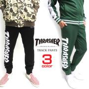 THRASHER ジャージ ロゴプリント トラックパンツ スラッシャー ボトムス ロング パンツ THRASHER-050