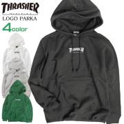 THRASHER パーカー ロゴ刺繍 スウェットパーカー メンズ スラッシャー マグロゴ 裏起毛 THRASHER-059
