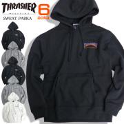 THRASHER パーカー ロゴプリント スウェットパーカー メンズ スラッシャー マグロゴ 裏起毛 THRASHER-060