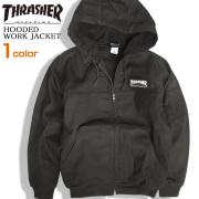 THRASHER ジャケット フード付き ワークジャケット ツイル生地 スラッシャー メンズ アウター THRASHER-067