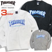 THRASHER トレーナー アイスロゴ スウェットトレーナー メンズ 長袖トップス スラッシャー THRASHER-073