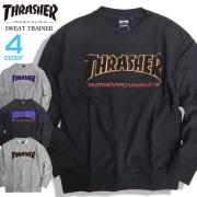 THRASHER トレーナー サガラ刺繍 スウェットトレーナー メンズ スラッシャー ロゴ 刺繍 THRASHER-080