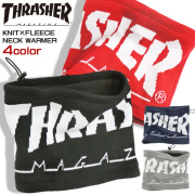 THRASHER ネックウォーマー 裏フリース スヌード メンズ スラッシャー マグロゴ 秋冬 小物 THRASHER-1040