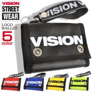 VISION 財布 三つ折り ビジョンストリートウェア 3つ折り サイフ カードケース 小銭入れ VISION-VSTP100
