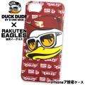 DUCK DUDE アイフォンケース 楽天イーグルス ダックデュード コラボアイテム iPhone7ケース ACCE-042