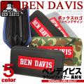 BEN DAVIS 長財布 ベンデイビス 財布 ラウンドファスナー ボックスロゴ ウォレット ラウンドジップ BEN-1072