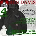 パーカー ベンデイビス メンズ スウェットパーカー BEN DAVIS プルオーバー スエット バックプリント BEN-1086