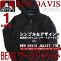 BEN DAVIS ジャケット 中綿入り ベンデイビス ワークジャケット メンズ アウター 裏地キルティング地 BEN-1089