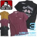 BEN DAVIS 半袖シャツ ロゴ刺繍 ボーリングシャツ ベンデイビス シャツ ベンデビ 刺繍入りシャツ BEN-1167