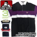 BEN DAVIS 半袖シャツ 切り替え ラガーシャツ ベンデイビス シャツ メンズトップス アメカジ BEN-1184