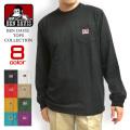 BEN DAVIS Tシャツ ポケット 長袖Tシャツ メンズ ベンデイビス 胸ポケット付き ロンT ゴリラタグ BEN-1199