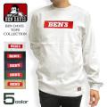 BEN DAVIS Tシャツ ボックスロゴ 長袖Tシャツ メンズ ベンデイビス ロンT バックプリント BEN-1202