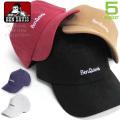 BEN DAVIS キャップ ベンデイビス スエードキャップ ロゴ刺繍 bendavis 帽子 スウェード生地 BEN-1212