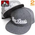 BEN DAVIS キャップ ロゴ刺繍 スナップバックキャップ ベンデイビス ベースボールキャップ 刺繍 BEN-1215