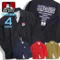 BEN DAVIS コーチジャケット ロゴプリント ジャケット ベンデイビス アウター ナイロンジャケット BEN-1248