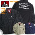 BEN DAVIS ジャケット チェーン刺繍 ワークジャケット ベンデイビス アウター 裏地 チェック柄 BEN-1251