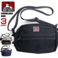 BEN DAVIS ショルダーバッグ メッシュポケット付き バッグ ベンデイビス カバン メンズ レディース BEN-1281