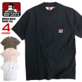 BENDAVIS モックネックTシャツ ベンデイビス 半袖Tシャツ 胸ポケット メンズ Tシャツ 半袖トップス BEN-1327