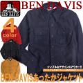 BEN DAVIS シャツジャケット ベンデイビス メンズ 秋冬アウターアイテム ジャケット ウール素材で暖かい BEN-208