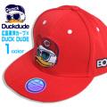 DUCK DUDE 広島東洋カープ×ダックデュード コラボ カープデザインになったお洒落番長アヒル刺繍 キャップ CAP-019