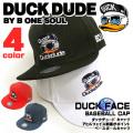 ダックデュード キャップ duckdude ベースボールキャップ DUCK DUDE アヒルキャラクター CAP-047
