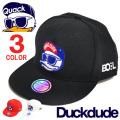 DUCK DUDE キャップ アヒル刺繍 メンズ ベースボールキャップ ダックデュード 帽子 ビーワンソウル CAP-051