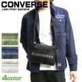 CONVERSE サコッシュ コンバース ショルダーバッグ ロゴプリント メッシュポケット バッグ CONVERSE-013