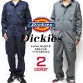DICKIES カバーオール ディッキーズ つなぎ ポケットが豊富で機能性抜群のオールインワン DICKIES-48799