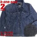 B ONE SOUL ジャケット ビーワンソウル デニムジャケット メンズ b-one-soul アウター JBL-173
