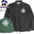 DUCK DUDE ジャケット アヒル コーチジャケット メンズ 袖プリント ダックデュード ライトアウター JBL-184