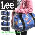 Lee ボストンバッグ リー ロールボストンバッグ ブランドタグ付き カバン メンズ レディース 鞄 LEE-014