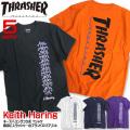 THRASHER Tシャツ キースヘリング 半袖Tシャツ Keith Haring コラボアイテム THRASHER-023