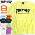 THRASHER Tシャツ ロゴプリント 半袖Tシャツ スラッシャー プリントTシャツ トップス THRASHER-034
